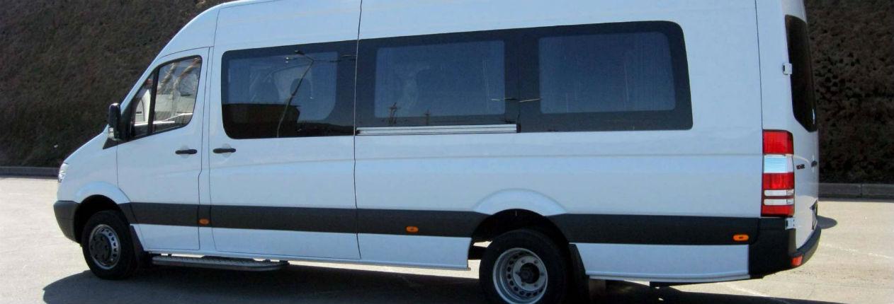 Заказ микроавтобуса в Петербурге