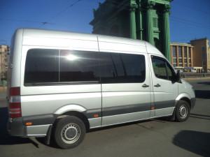 микроавтобус в Санкт-Петербурге