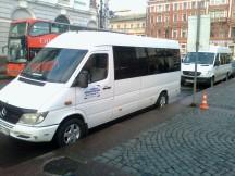 Перевозка пассажиров микроавтобусом.